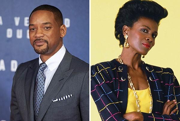 Will Smith e Janet Hubert (Foto: Getty Images / Reprodução)