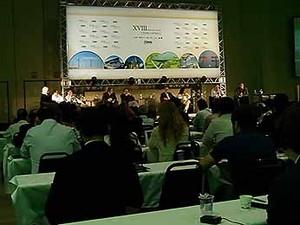 Cemig discute em Uberlândia sobre renovação das concessões dos serviços (Foto: Reprodução/TV Integração)