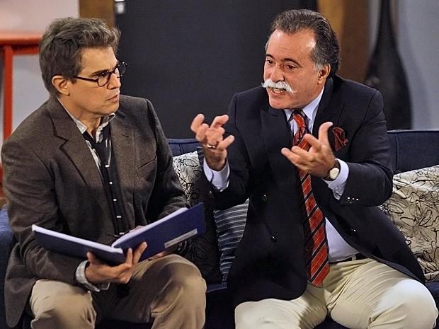 Otávio acredita que de ele conseguir desunir as mulheres, ganhará a aposta (Foto: Guerra dos Sexos/ TV Globo)