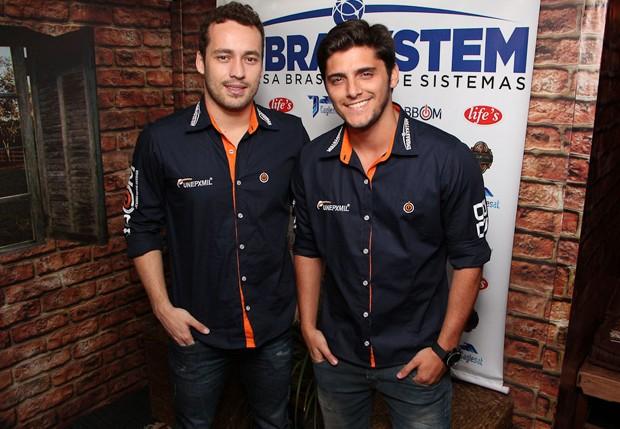 d430c5c8188f2 Rodrigo Andrade e Bruno Gissoni (Foto  Danilo Carvalho e Michele Farid   Ag.