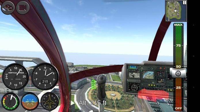 Simulador de voo com helicópteros é o principal destaque da semana (Foto: Reprodução / Dario Coutinho)