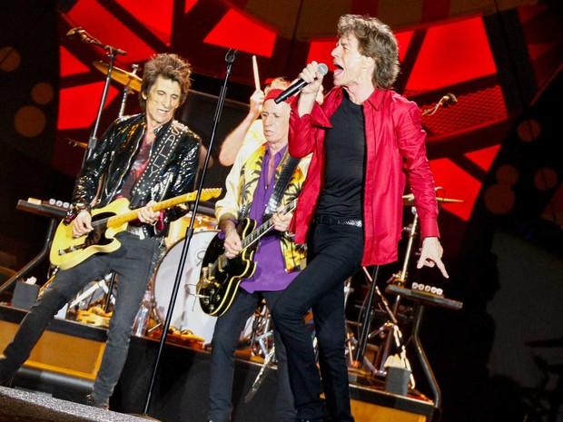 Rolling Stones se apresentam no Maracanã (Foto: Rodrigo Gorosito / G1)
