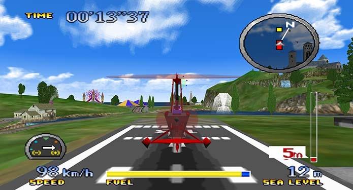 Só dois games estavam disponíveis no lançamento do console (Foto: Reprodução/YouTube)
