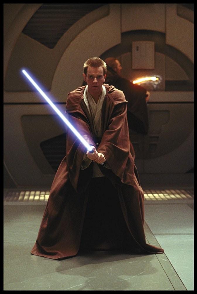 Ewan McGregor em Star Wars: Episódio I - A Ameaça Fantasma (1999) (Foto: Divulgação)