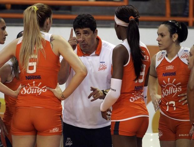Luizomar de Moura, técnico do Osasco (Foto: Fabio Rubinato / AGF /Divulgação)