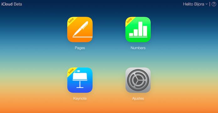 Aprenda a criar uma conta no iCloud sem ter um Mac ou iPhone (Foto: Reprodução/Helito Bijora)