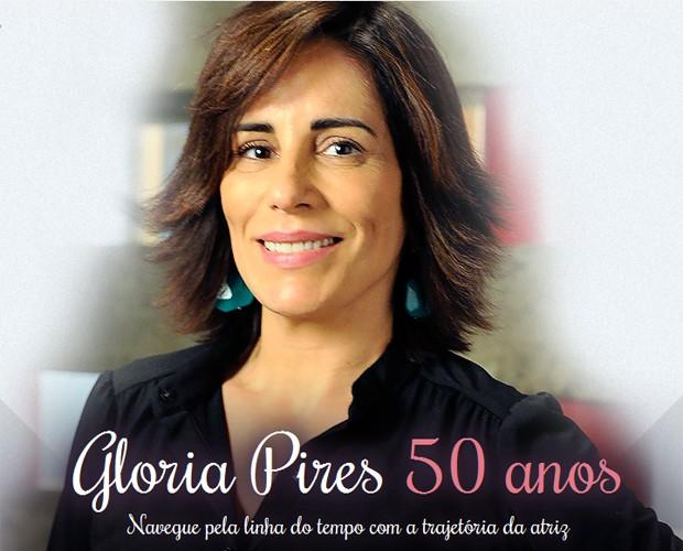 Gloria Pires completa 50 anos (Foto: Vídeo Show/TV Globo)
