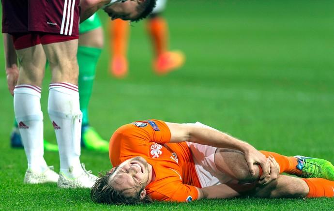 Blind, Holanda X Letônia (Foto: Agência Reuters)