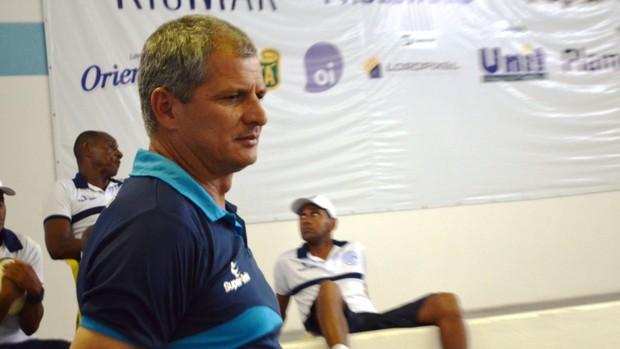 Fahel quer uma boa vantagem neste primeiro jogo (Foto: Felipe Martins/GLOBOESPORTE.COM)