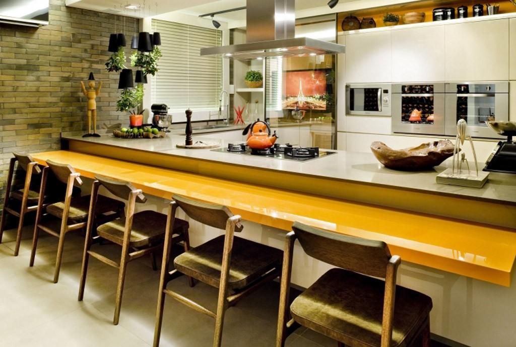 Cozinha para receber saiba como decorar o ambiente para integrar os amigos  # Cozinha Simples Gnt
