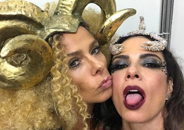 Luciana Gimenez e Adriane Galisteu (Foto: Reprodução/Instagram)