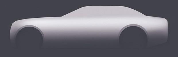 Desenho explica a carroceria de um sedã (Foto: Fernando Morita/Autoesporte)