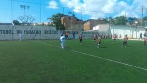 Santa Cruz e CIC se enfretaram pela sexta rodada do PE de Base de Futebol 7 (Foto: Divulgação / Federação Society PE)