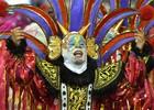 Dragões canta anos 80 com Bozo e Kiss (Nelson Almeida/AFP)