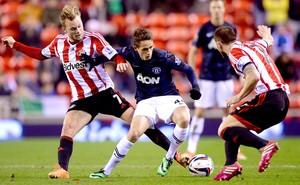 Adnan Januzaj jogo Manchester United e Sunderland (Foto: Getty Images)