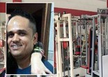 Homem sofre infarto e morre na academia (Reprodução EPTV)