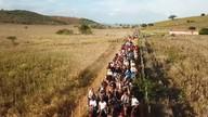 Moradores de Paripiranga participam de cavalgada 'Manhã Sertaneja'