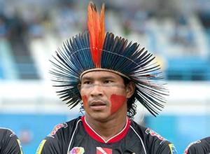 Aru no jogo Gavião Kyikate contra Paysandu CHAMADA 3 (Foto: Reuters)