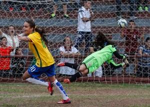 Ana Vitória é campeã com a Seleção Sub-17 (Foto: Ale Vianna/ ME Assessoria)