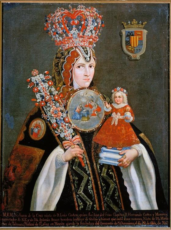 BARROCA Retrato de Sor Juana Inés de la Cruz,freira e poeta mexicana.Ela deixou uma das líricas mais originais em língua espanhola (Foto: Album / Joseph Martin)