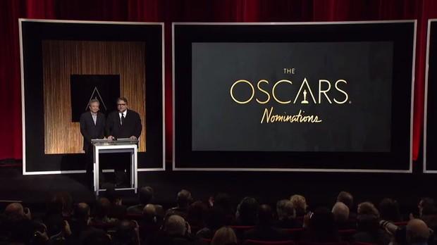 Apresentação dos nominados ao Oscar 2016 (Foto: Youtube / Reprodução)