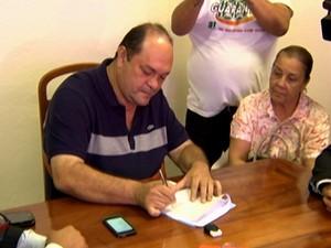 Prefeito de Santarém, Alexandre Von (Foto: Reprodução/TV Tapajós)