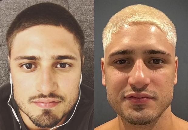 Daniel Rocha antes e depois (Foto: Reprodução/Instagram)