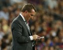 "Técnico do Celtic descarta vergonha por 7 a 0 e exalta MSN: ""Especiais"""