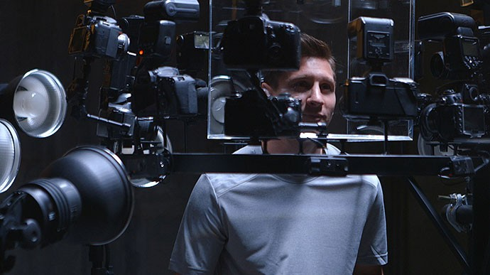 Frames Messi