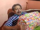 Longe da família, idosos vão às lágrimas em Natal voluntário no Piauí