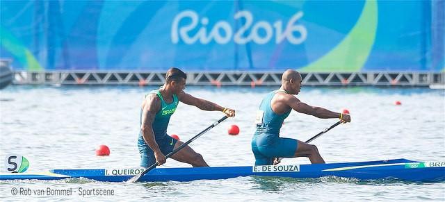 Isaquias e Erlon (Foto: Flickr da Canoagem Brasileira)