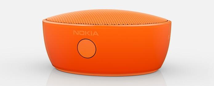 Caixa de som MD-12, da Microsoft, em cor laranja (Foto: Divulgação)