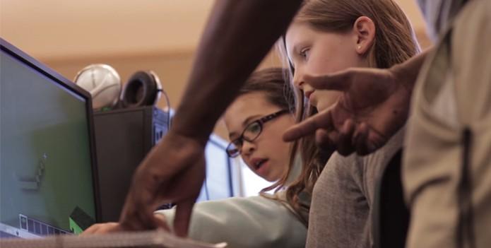 Projeto da Microsoft segue a tendência de projetos educacionais construídos em torno de Minecraft (Foto: Reprodução/Minecraft in Education)
