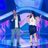 Kiko Salli e Jeanne Lima e Trio de forró (Foto: Isabella Pinheiro/TV Globo)