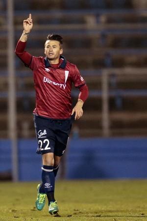 Roberto Gutíerrez Católica Danubio gol (Foto: EFE/Mario Ruiz)