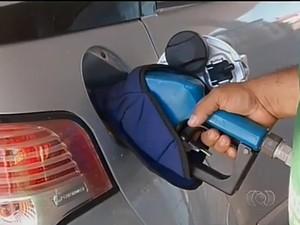 gasolina palmas (Foto: Reprodução/TV Anhanguera)