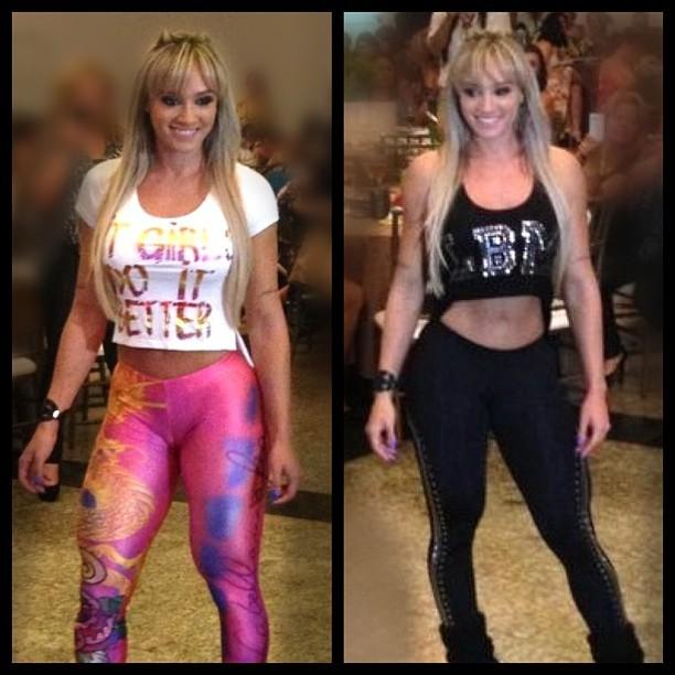 d30576906 Juju Salimeni exibe barriga sarada com modelitos fitness (Foto  Instagram)