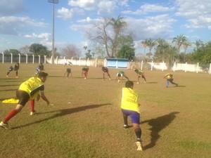 Tocantins sub-19 se prepara para a proxima partida do estadual quando recebe o Colinas  (Foto: Edson Reis/GloboEsporte.com)