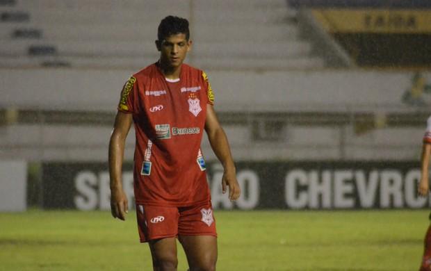 Lucão diz que trocaria gols por vitória (Foto: Felipe Martins)