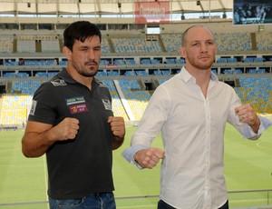 Demian Maia x Ryan La Flare UFC  RJ Maracanã (Foto: André Durão)