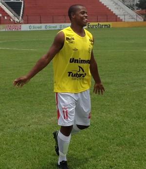 Atacante Rodrigo vai jogar no futebol carioca (Foto: Assessoria/União EC)