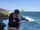 Thais Fersoza se declara para Michel Teló: 'Amor, amor, amor'