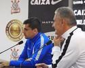 """Tite faz apelo: """"O verdadeiro torcedor do Corinthians ajuda na hora difícil"""""""