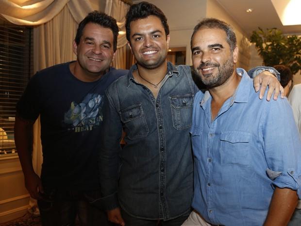 OS diretores Marco Rodrigo, Cadu França e Oscar Francisco (Foto: Ellen Soares/Gshow)