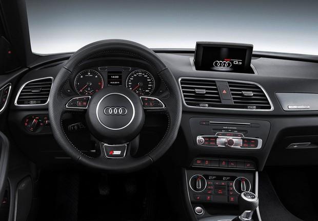 Painel Audi Q3 facelift 2016 (Foto: Divulgação)