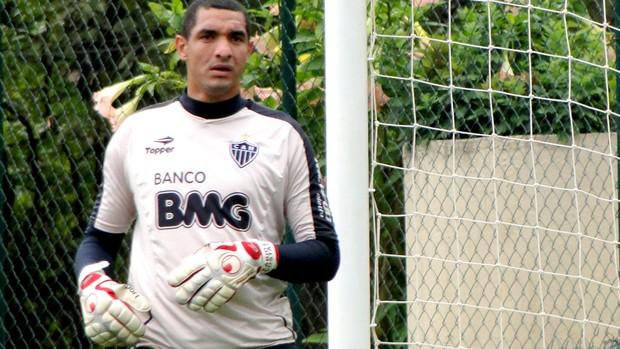fabio costa atlético-MG treino (Foto: Valeska Silva / Globoesporte.com)
