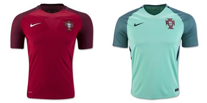 Camisas Eurocopa portugal