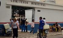 Justiça considera legal cobrança de taxa de cemitério em Pouso Alegre (Daniela Ayres/ G1)