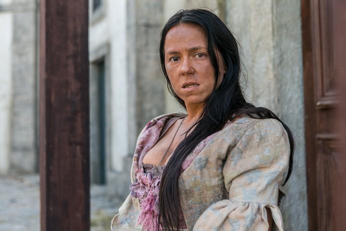 Vivianne Pasmanter caracterizada em Novo Mundo (Foto: Globo/Raquel Cunha)