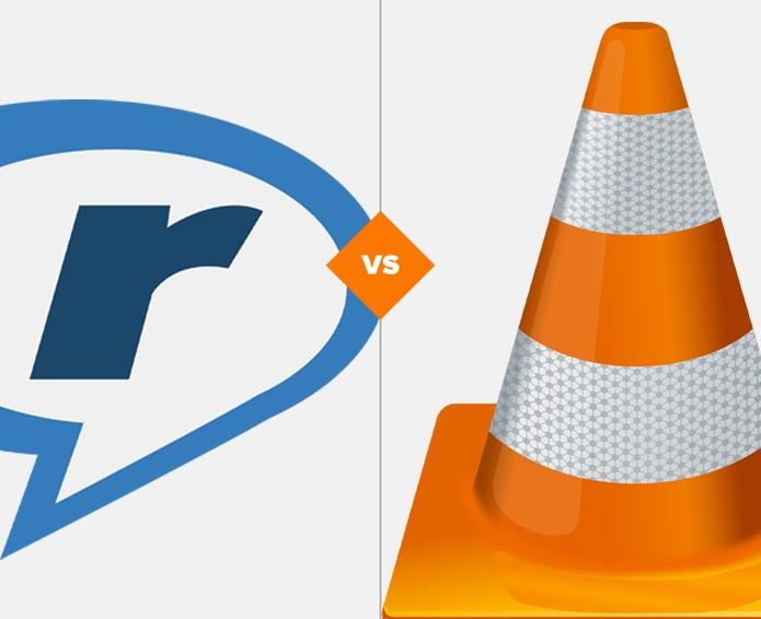VLC ou RealPlayer? Descubra qual reprodutor de vídeos se sai melhor no comparativo (Foto: Arte/TechTudo)